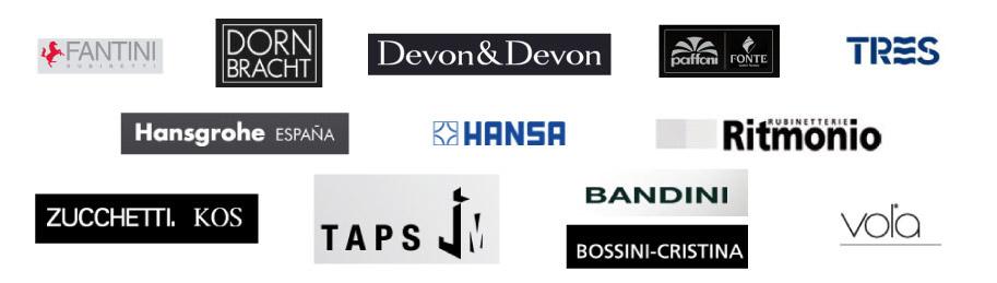 Las mejores marcas de mobiliario y accesorios de ba o for Marcas accesorios bano